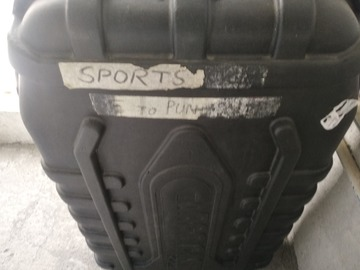 For Sale: Cycle Fiber glass box/case