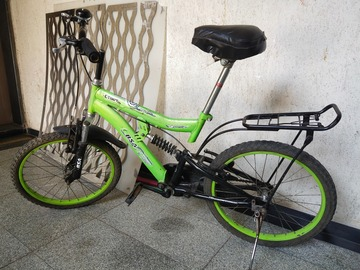 Cycling Content: Almost New Cycle Hardly Used
