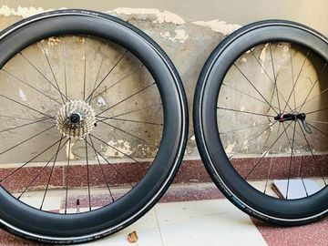 For Sale: Carbon Racing Bike Wheelset