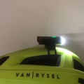 For Sale: Road cycling helmet + rock bros front and rear light