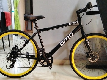 For Sale: 1 Month Old | Omobike 7 Gear | 29T - 700c Hybrid Bike | Dual