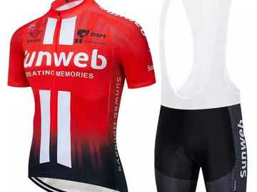 For Sale: Mens Polyester Cycling Jerseys & Shorts on Sale