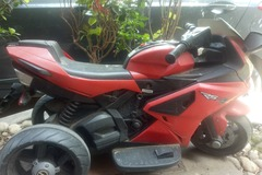 For Sale: You will get in reasonable price(Red motor cycle)
