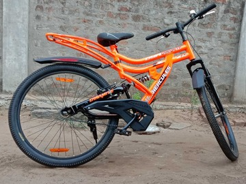 For Sale: Hercules Dynamite ZX Dual Suspension Mountain Cycle