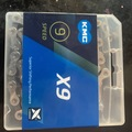 For Sale: KMC 9 speed chain new one box piece ..