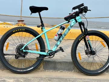 For Sale: Less than a year old Trek Roscoe 7 in like new condition.