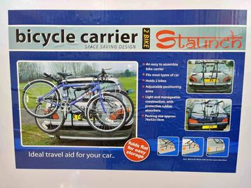 For Sale: Brand New Staunch Brand Bicycle carrier for 2 bikes