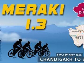 Events: Meraki 1.3 : Chandigarh - Solan - Chandigarh Cycle Ride