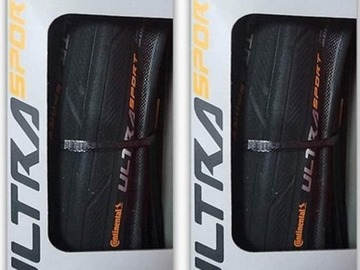 For Sale: Continental ultra sport folding tyres 700*25