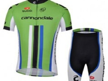 For Sale: Cannondale Cycling Short Sleeves Jersey &  Padded Shorts Set