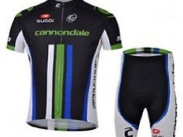 For Sale: Cannondale Short Sleeves Cycling Jersey & Padded Shorts Set