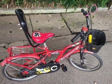 For Sale: 6 months old hero kids cycle for sale