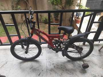 For Sale: Hercules kids cycle with shock absorbers