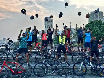 Cycling Group: Ghatkopur Cyclists Club