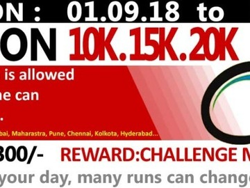 Events: 30 DAY 10K Cyclothon Challenge - 1st Sept
