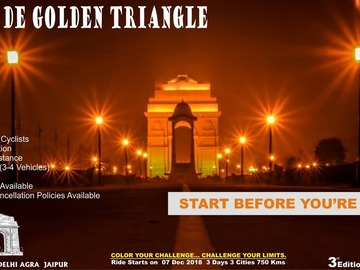 Events:  Tour De Golden Triangle - 3rd Edition