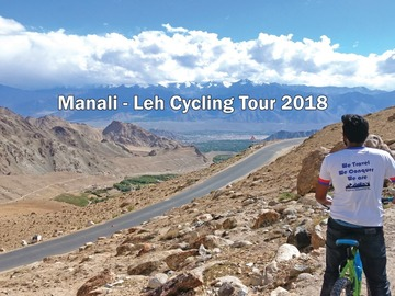 Events:  Manali Leh Cycling Tour 2018