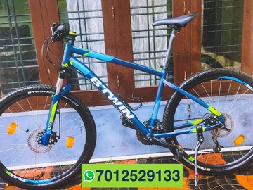 For Sale: BTWIN ROCKRIDER 520 (L) less used,24 speed, disc brake