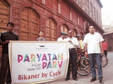 Cycling Group: Bikaner By Cycle