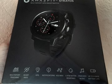 For Sale: Amazfit 2 Stratos with VO2max,Heart Rate,Activity Tracking,
