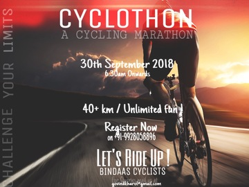 Events: Cyclothon  - A Cycle Marathon