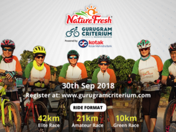 Events: Nature Fresh Gurugram Criterium 2018 30th September