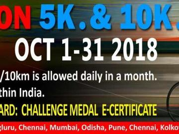 Events: 5K/10K Cycling Daily October Challenge October