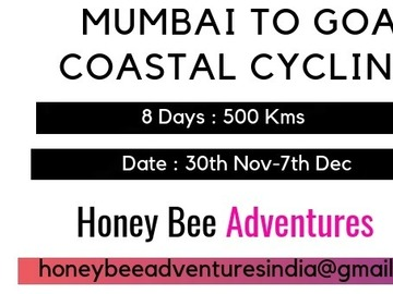 Events: Mumbai to Goa (Coastal Cycling) Konkan Odyssey! 30th Nov