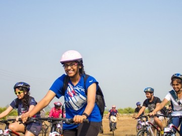 Events:  Cycling Ride to Alibaug 7th October