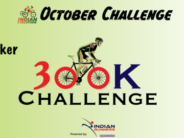 Events: OCTOBER Challenge - Indian Cyclothon 1st October