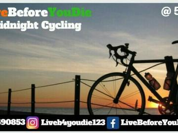 Events: Cycling Under The Moon-Light	 22nd September