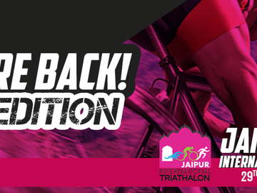 Events: Jaipur International Triathlon 2018 29th September