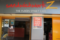 Bikefriendly Cafes: SandwichworkZ- The Fusion Street Cafe
