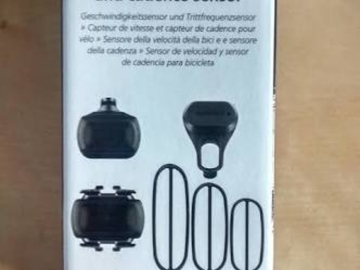 For Sale: Garmin Speed and Cadiance sensors