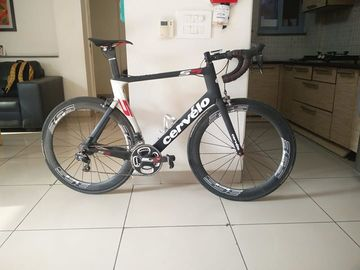 For Sale: Cervelo S5 Di2 Ultegra 11 speed 58cm. Stages power meter