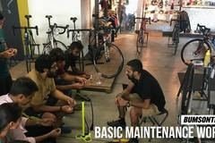 Services: BUMSONTHESADDLE Bicycle Maintenance Workshop