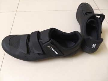 For Sale: Btwin 500 Road+MTB shoes UK9.5/EU44