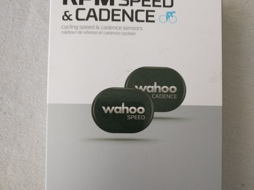 For Sale: Wahoo Speed and Cadence Sensor