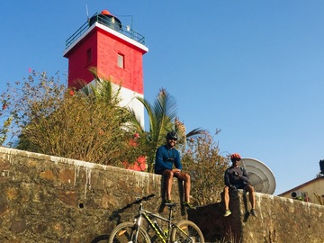 Cycling Content: Ride to Uttan Lighthouse, Gorai