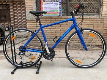 For Sale: New 2019 Trek FX-2 (Blue) with accessories