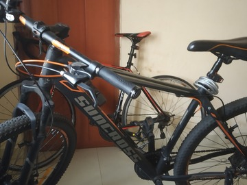 For Sale: SUNCROSS DARE MTB, 29 WHEEL SIZE, 1 YEAR OLD, RARELY USED
