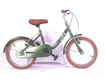 For Sale: BikeArk 16 Inches Kids' Bicycle- Olive Green