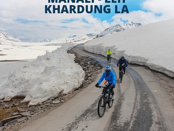 Events: Manali - Leh + Khardungla Cycle ride Expedition