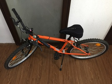 For Sale: 6-month old Rockrider 100 Kids Bike (orange color)