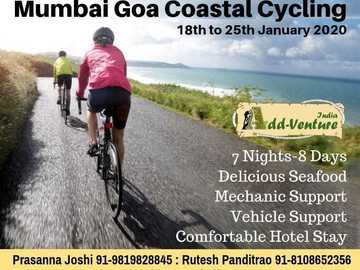 Events: Mumbai Goa Coastal Cycling 2020