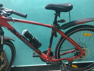 For Sale: Montra Backbeat-2019 27.5T 21 Speed Super Premium Cycle(Red)