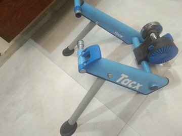 For Sale: TacX indoor Trainer for bikes. Just a month old.