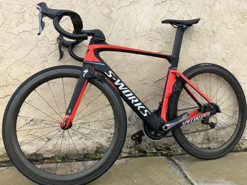 For Sale: Specialized S-works Venge Vias 54cm with Dura Ace Cabon Road