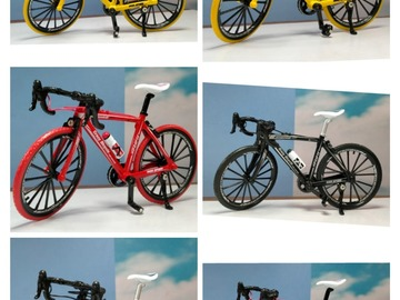 Cycling Content: Imported show piece die cast bicycles models