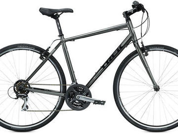 For Sale: Trek 7.1 Fx for sale - dark grey with new crank, chain and s